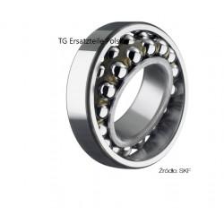 Ball bearing 1204 ETN9 SKF 20x47x14