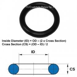 O-ring 10.6X2.4 NBR 70Shore