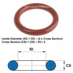 Silicone O-ring 11X2 O-ring VMQ / MVQ