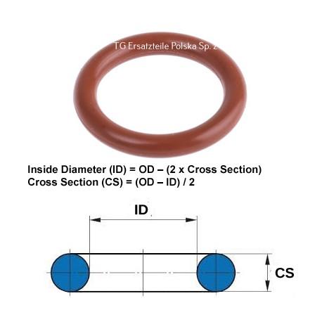Silicone O-ring 11X2.5 O-ring VMQ / MVQ