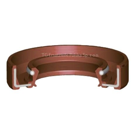 Rotary Shaft Seal silicone 35x62x10 MVQ AO/ TC Oil Seal Double Lip