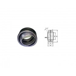 Spherical plain bearing GE 12 ES FLURO 12x22x10
