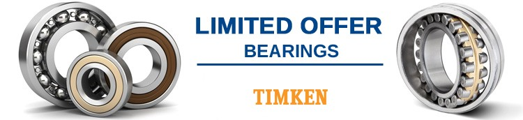 LIMITED-OFFER-TIMKEN-BEARINGS
